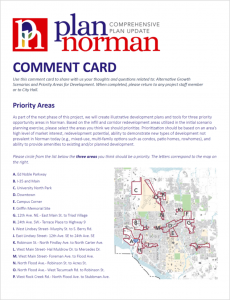 comment card cover